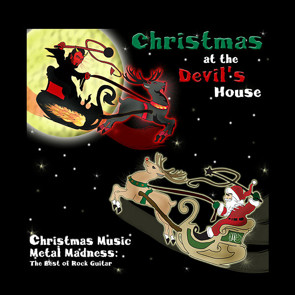 Christmas music metal madness the best of rock guitar by