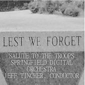 Play & Download Salute to the Troops by Springfield Digital Orchestra | Napster