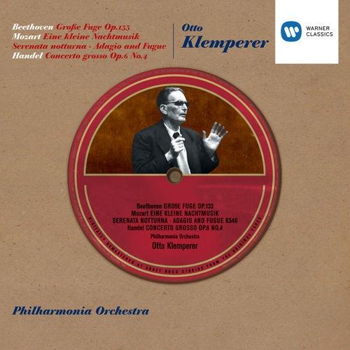 Play & Download Klemperer - Große Fuge Op.133 etc by Philharmonia Orchestra | Napster