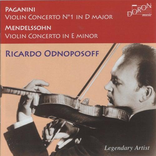 Play & Download Paganini & Mendelssohn: Violin Concertos by Ricardo Odnoposoff   Napster