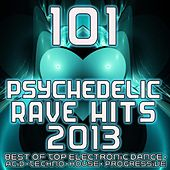 Play & Download 101 Psychedelic Rave Dance Hits 2013 - Top Progressive Electronic Music, Acid House, Electro Trance, Hard Techno, Club Anthems by Various Artists | Napster