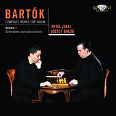 Bartok: Complete Works for Violin, Vol. 1 by Antal Zalai