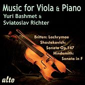 Play & Download Music for Viola and Piano by Yuri Bashmet | Napster