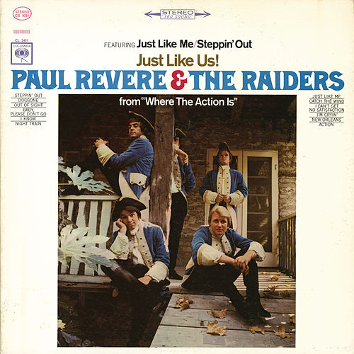Play & Download Just Like Us! by Paul Revere & the Raiders | Napster