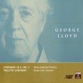 Symphony No. 1 & No. 12 by George Lloyd