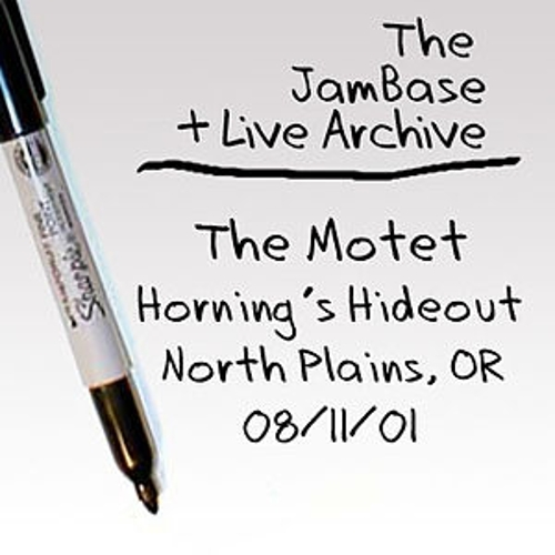 Play & Download 08/11/01 - Horning's Hideout - North Plains, OR by The Motet | Napster