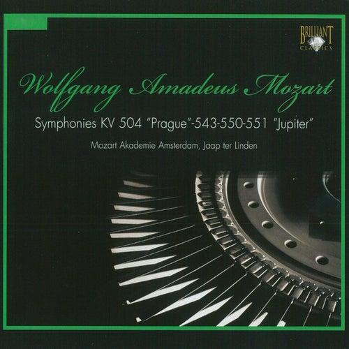 Mozart: Symphonies, K. 504, K. 543, K. 550 & K. 551 by Mozart Akademie Amsterdam