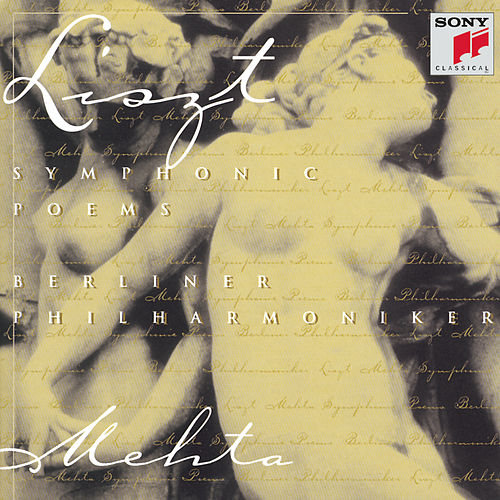 Symphonic Poems: Les Preludes; Orpheus; Mazeppa; Hamlet; Hunnenschlacht by Berlin Philharmonic Orchestra