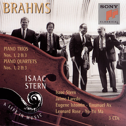 Brahms:  Piano Trios by Isaac Stern