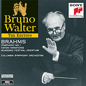 Play & Download Brahms: Symphony No.1; Haydn Variations; Academic Festival Overture by Bruno Walter | Napster