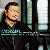 Mozart : Piano Concertos Nos 6, 15 & 27 by Pierre-Laurent Aimard