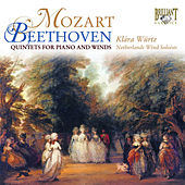 Mozart & Beethoven: Quintets for Piano and Winds by Klára Würtz