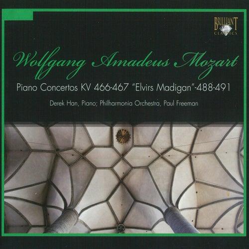 Mozart: Piano Concertos by Philharmonia Orchestra Derek Han