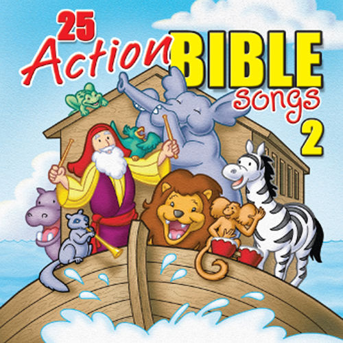 25 Action Bible Songs 2 by Twin Sisters Productions