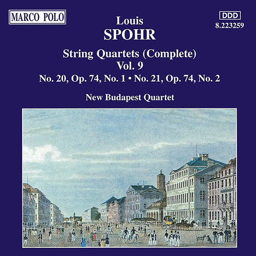 String Quartets Nos. 20 and 21, Op. 74, No. 1 by Louis Spohr