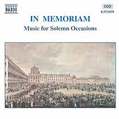In Memoriam (unpublished) by Various Artists