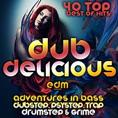 Dub Delicious (Adventures in Bass, Dubstep, Psystep, Drumstep, Trap & Grime, Best of Top 40 Hits) by Various Artists