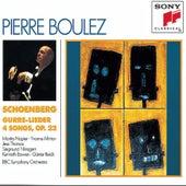 Schoenberg: Gurre-Lieder by B.B.C. Symphony Orchestra; Pierre Boulez; Yvonne Minton