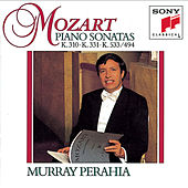 Mozart:  Sonatas for Piano K.310, 331 & 533/494 by Murray Perahia