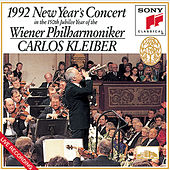 Play & Download 1992 New Year's Concert in the 150th Jubilee Year of the Wiener Philharmoniker by Carlos Kleiber; Vienna Philharmonic Orchestra | Napster