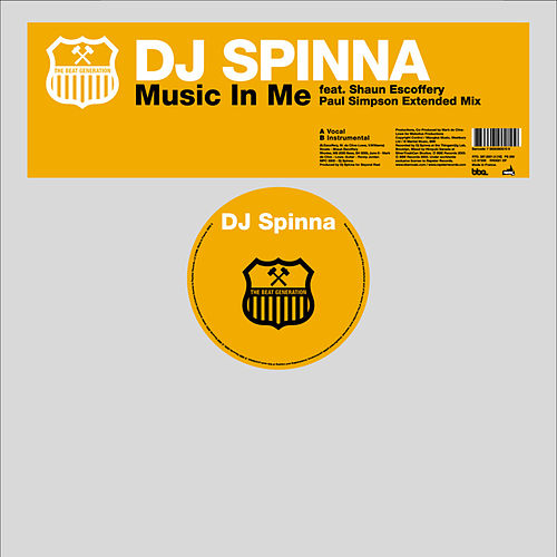 Music In Me by DJ Spinna