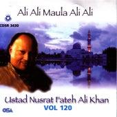 Play & Download Ali Ali Maula Ali Ali Vol. 120 by Nusrat Fateh Ali Khan | Napster