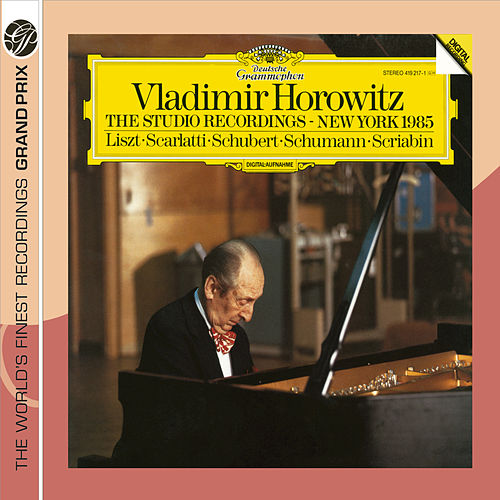 Play & Download Horowitz: The Studio Recordings, New York 1985 by Vladimir Horowitz | Napster