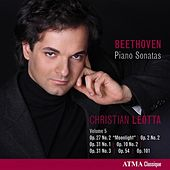 Play & Download Beethoven: Piano Sonatas, Vol. 5 by Christian Leotta | Napster