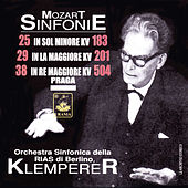 Mozart: Symphonies Nos. 25, 29, 38 - Serenade No. 6 by Otto Klemperer
