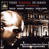 Play & Download Verdi: Requiem & Respighi: Feste Romane by Victor de Sabata | Napster