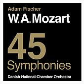 Play & Download Mozart: 45 Symphonies by Danish National Chamber Orchestra | Napster