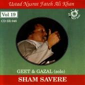 Play & Download Sham Savere vol.19 by Nusrat Fateh Ali Khan | Napster