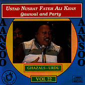 Play & Download Aansoo Vol. 22 by Nusrat Fateh Ali Khan | Napster