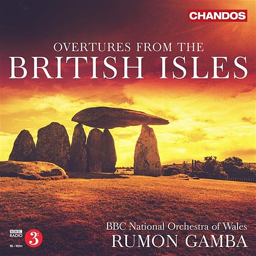 Play & Download Overtures from the British Isles by Rumon Gamba | Napster