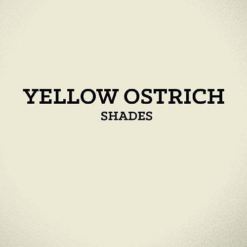 Shades - Single by Yellow Ostrich