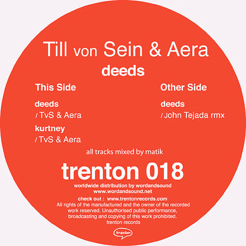 Play & Download Deeds by Till Von Sein | Napster
