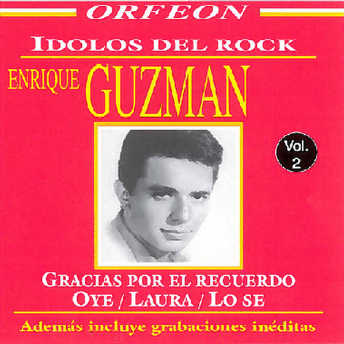 Idolos del Rock de los 60's: Enrique Guzman by Enrique Guzman