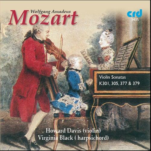 Mozart: Violin Sonatas K. 301, K. 305, K. 377 & K. 379 by Virginia Black