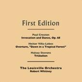 Paul Creston: Invocation and Dance, Op. 68 - Heitor Villa-Lobos: Overture,