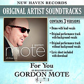 For You (Performance Tracks) - EP by Gordon Mote