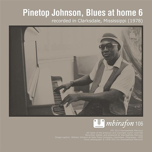 Play & Download Blues At Home 6 by Various Artists | Napster