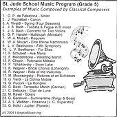 Play & Download St. Jude School Music Program by Various Artists | Napster