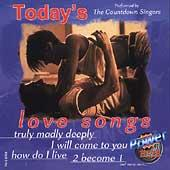 Today's Love Songs by The Countdown Singers