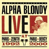 Live at Paris Zenith 1992 & Paris Bercy 2000 di Alpha Blondy