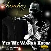 Yes We Wanna Know (R.I.P - Trayvon Martin) - Single by Sanchez