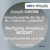 Play & Download Haydn: String Quartet No. 66 - Mozart: String Quartet No. 22 by Melos Quartet | Napster