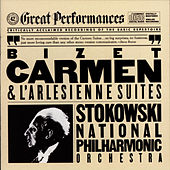 Bizet: Carmen and L'Arlésienne Suites (Excerpts) by Leopold Stokowski