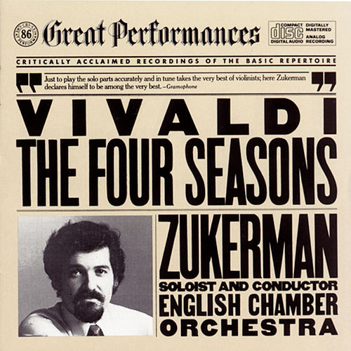Vivaldi: The Four Seasons by English Chamber Orchestra