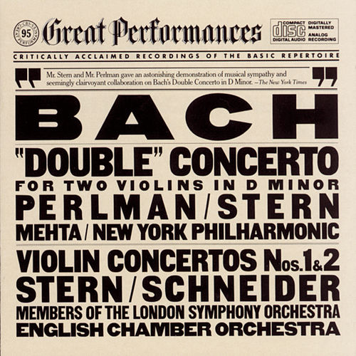 Play & Download Bach: 'Double' Concerto for Two Violins in D minor; Violin Concertos Nos. 1 & 2 by Various Artists | Napster