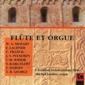 Mozart, Lachner, Franck, Svendsen, Widor, Karg-Elert, Martin & George: Works for Flute & Organ by Michel Jordan